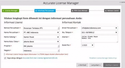 Registrasi Versi 5 (New User)