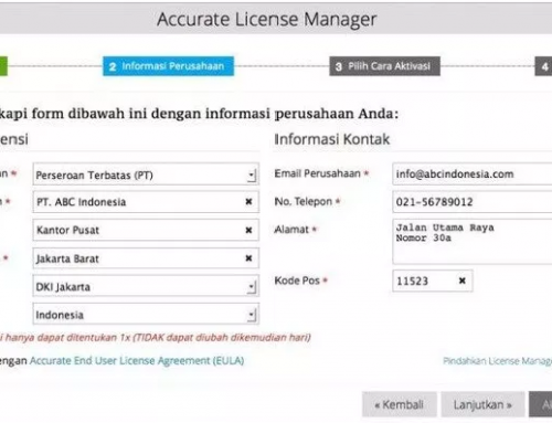 Register ACCURATE 5 (New USER)