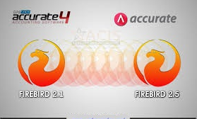 accurate hanya berjalan di Firebird 2.5